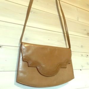 Brown clutch/crossbody bag